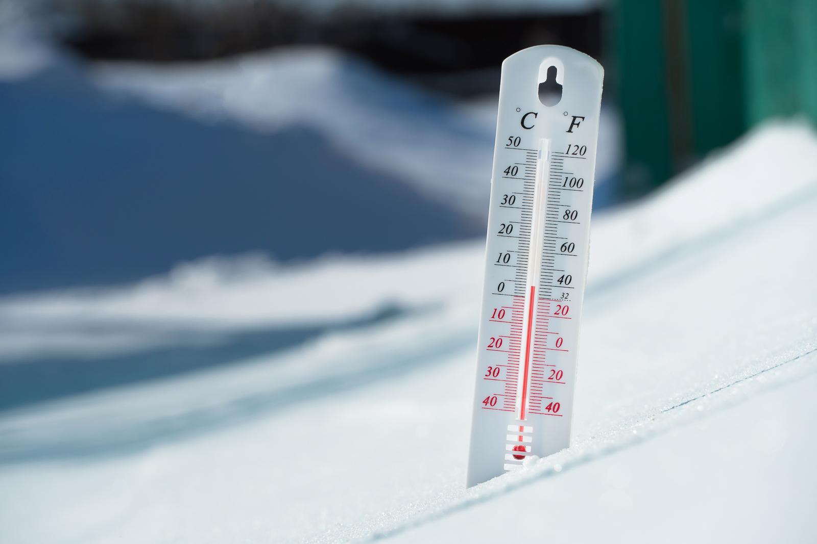 Koeling, thermometer koeltranpsort