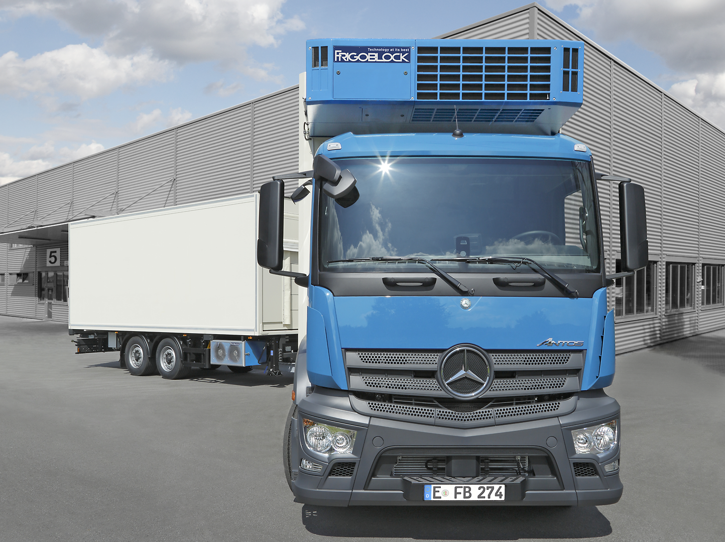 Frigoblock EK Series - DK Series - duurzaam - truck - bakwagen - elektrisch